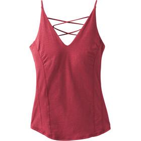 Prana Arrowland Ærmeløs trøje Damer rød